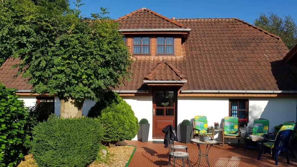 Vorher: Dachsanierung und Wohnraumerweiterung durch eine Gaube